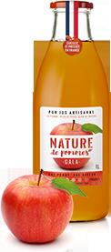 Bouteille Gala Nature de Pommes